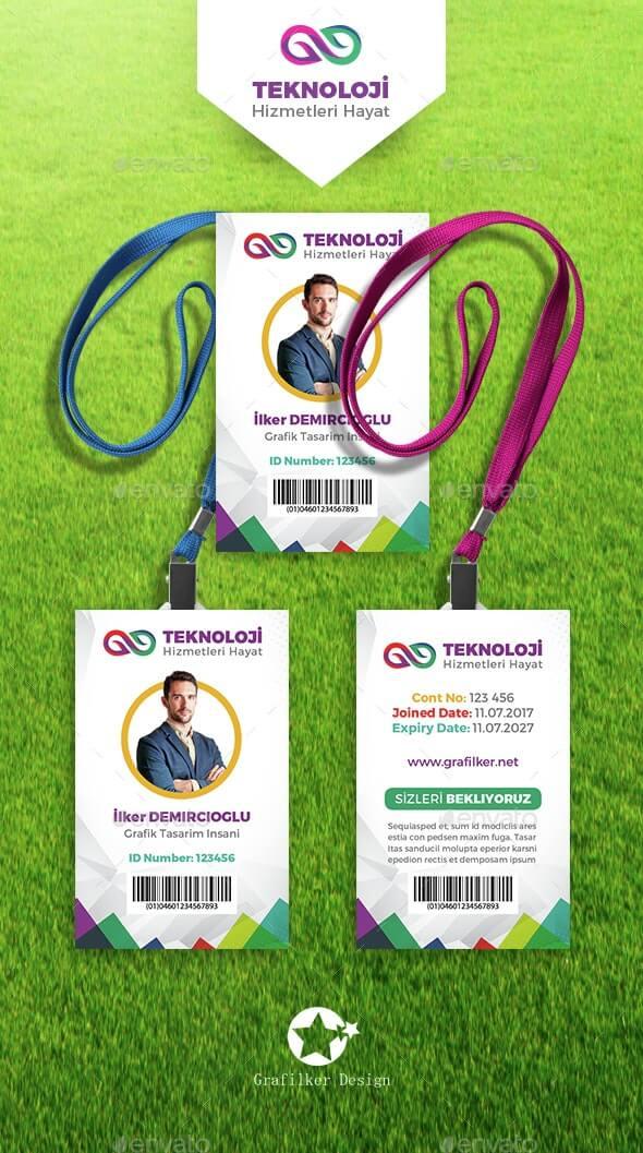 Corporate ID Card Templates